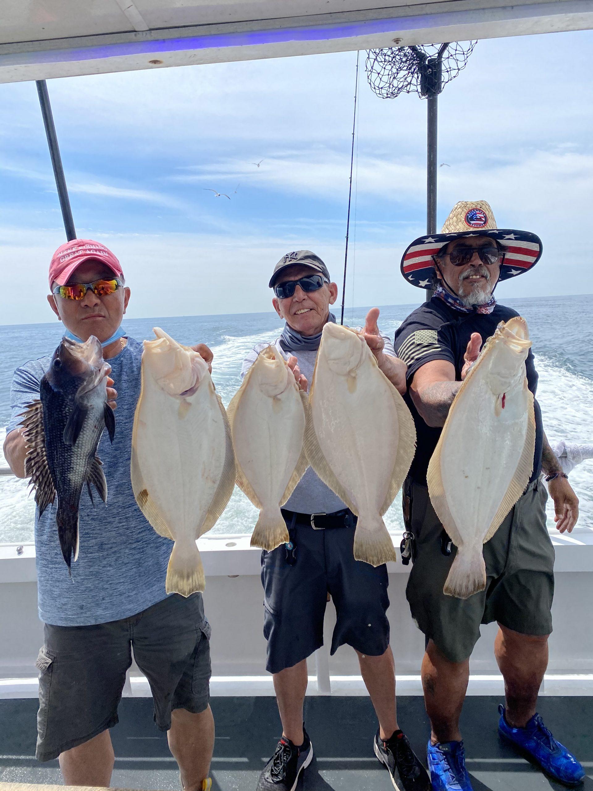 Half Day Fluke Fishing on the Starstream VIII