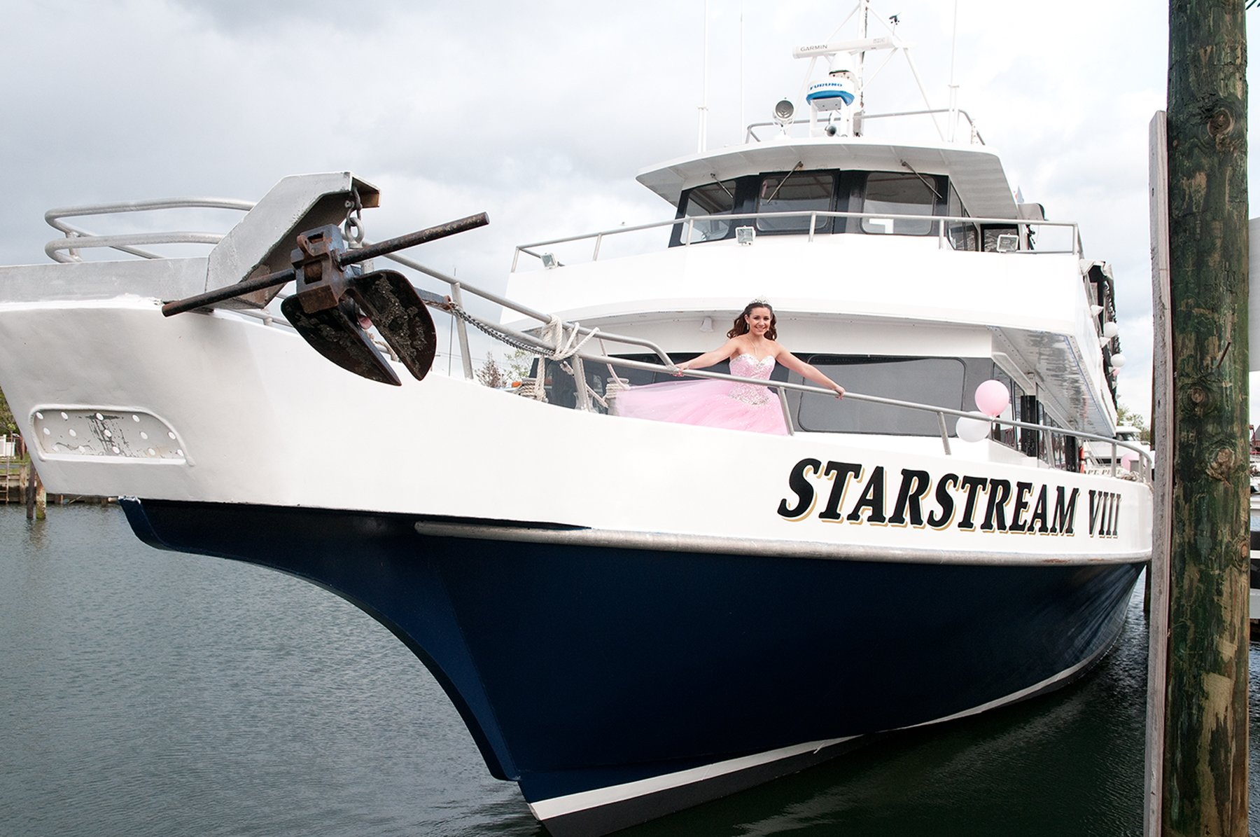 Star Stream Bow of Boat Sweet Sixteen